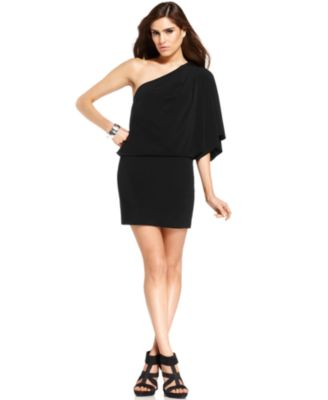Jessica Simpson Split-Sleeve Blouson Dress - Dresses ...