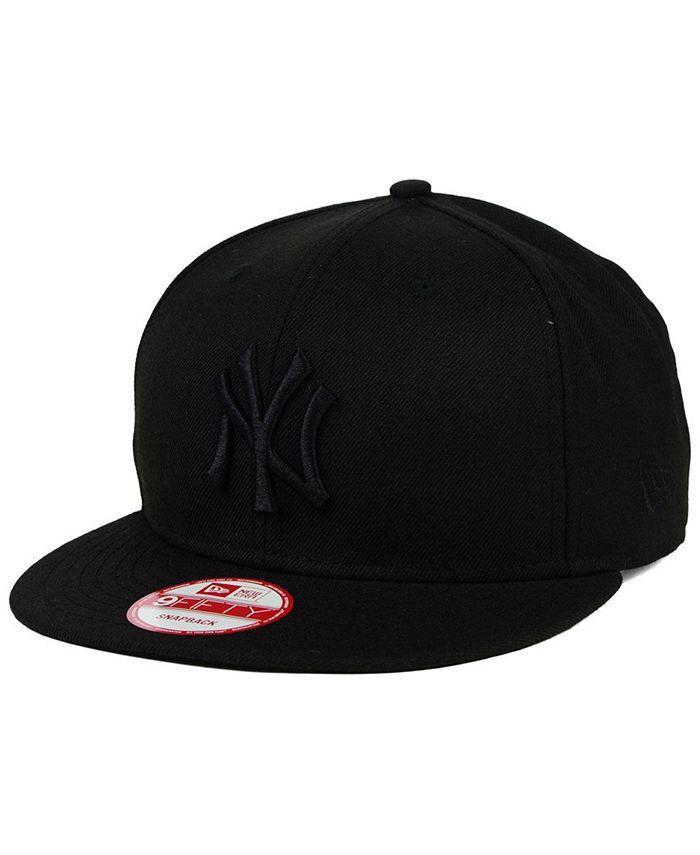 New Era - Triple Black 9FIFTY Snapback Cap