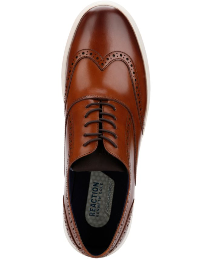Kenneth Cole Reaction Men's Reem Wingtip Sneaker Oxfords & Reviews - All Men's Shoes - Men - Macy's