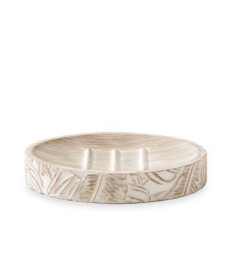 Palm Wood Soap Dish