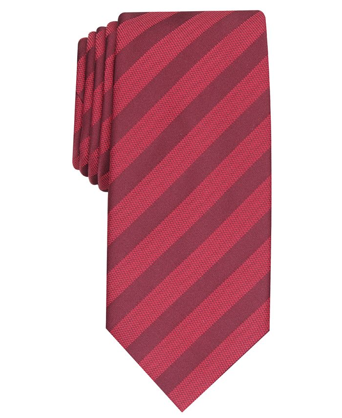 Alfani - Men's Slim Stripe Tie