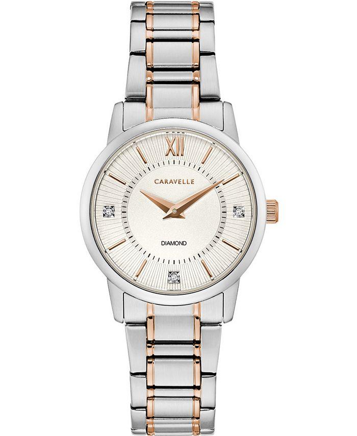 Caravelle - Women's Two-Tone Stainless Steel Bracelet Watch 30mm