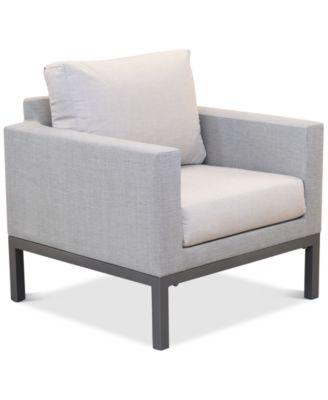 Carleese Outdoor Club Chair with Sunbrella® Cushions