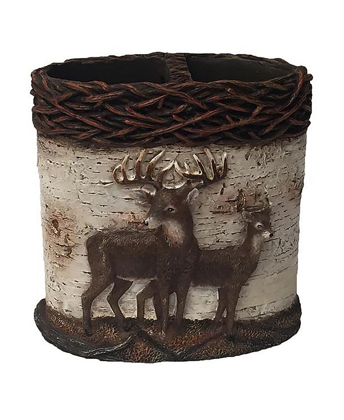 Laural Home - Deer Time Toothbrush Holder