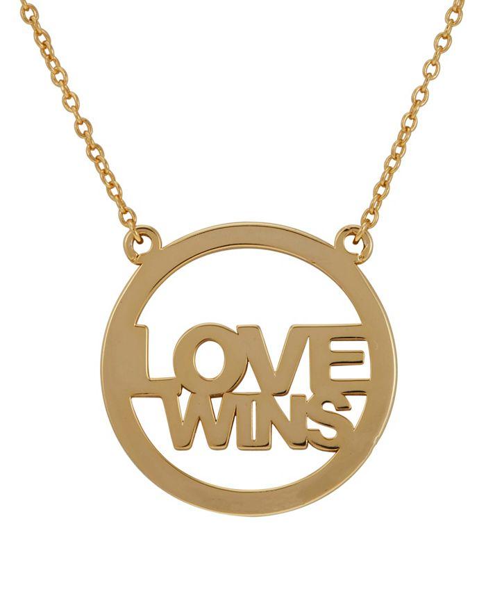 ADORNIA - Love Wins Necklace