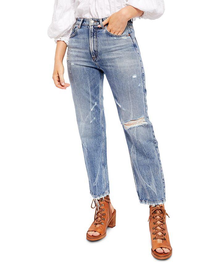 Free People - Dakota Straight Leg Jeans