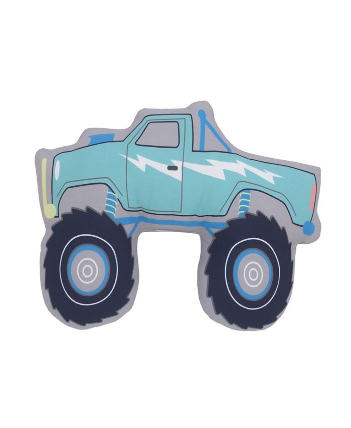 Carter's - Monster Truck Shaped Toddler Pillow