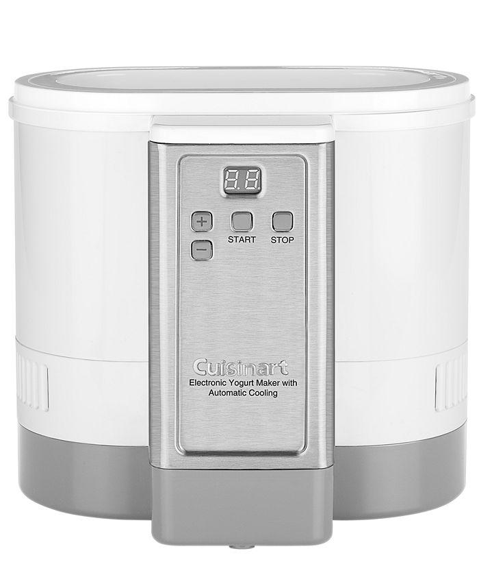 Cuisinart - CYM100 Electronic Yogurt Maker, Automatic Cooling