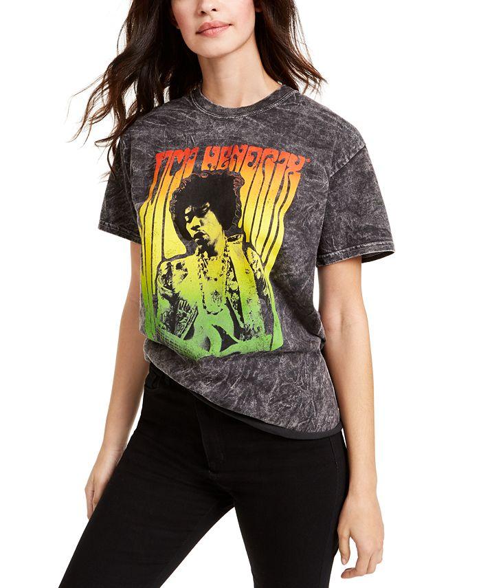 True Vintage - Cotton Jimi Hendrix Graphic T-Shirt