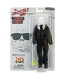 "Mego Action Figure 8"" Invisible Man Limited Edition Collector's Item"