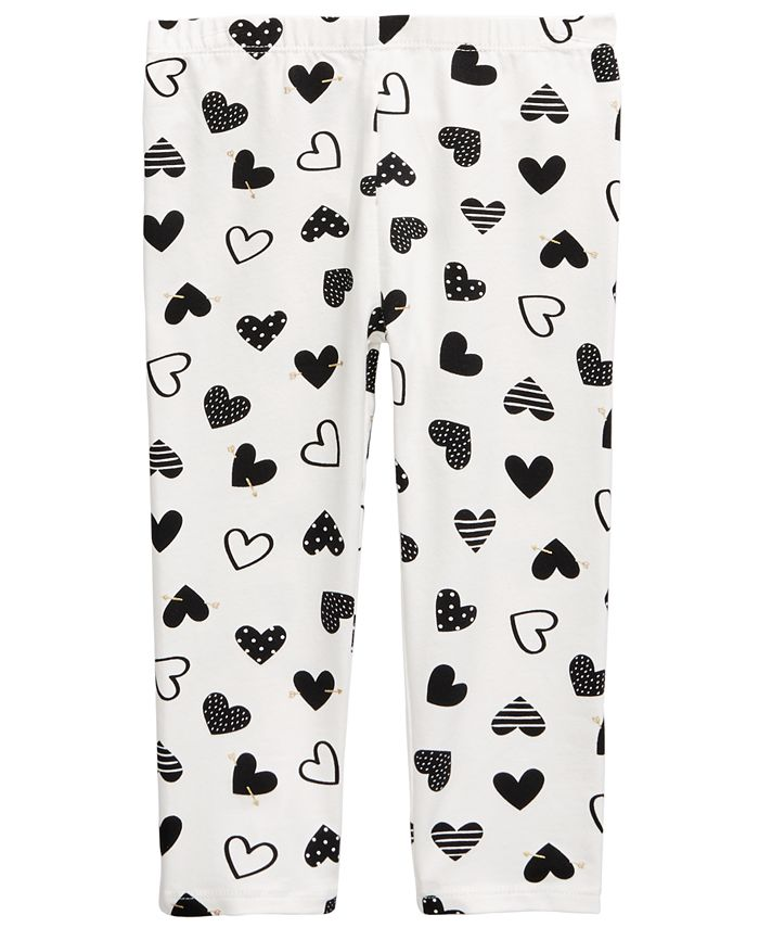 First Impressions - Baby Girls Heart Leggings