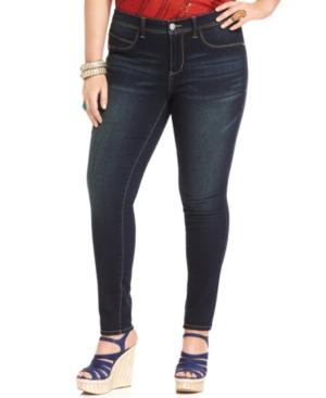 American Rag Plus Size Skinny-Leg Jeans, New School Wash