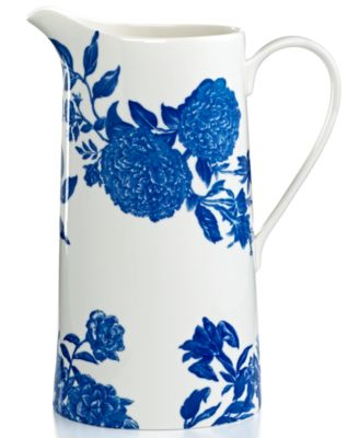CLOSEOUT! Martha Stewart Collection Orleans Cobalt Pitcher
