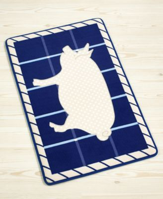 "Martha Stewart Collection Pig 18"" x 30"" Memory Foam Kitchen Mat"