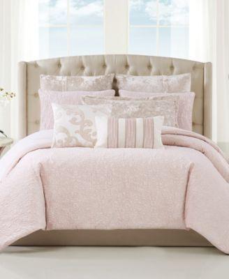 Velvet Melange 3 Piece Comforter Set, King