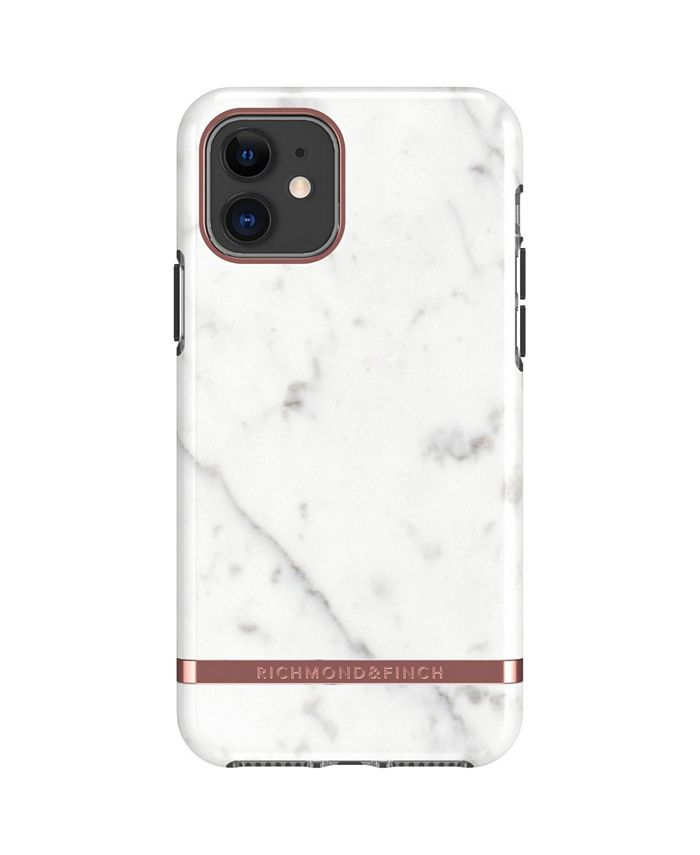 Richmond&Finch - White Marble Case for iPhone 11