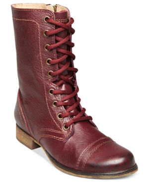 Steve Madden Womens Shoes Troopa Boots Womens Shoes