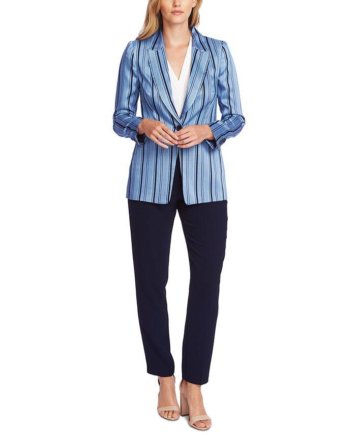 Vince Camuto - Striped Single-Button Blazer