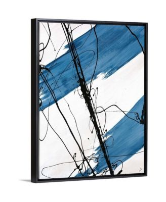 "'Adaptation I' Framed Canvas Wall Art, 30"" x 40"""