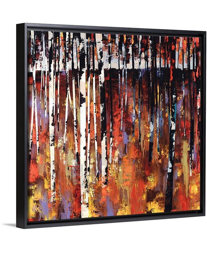 """GreatBigCanvas - 16 in. x 16 in. """"Into The Woods Again"""" by  Sydney Edmunds Canvas Wall Art"""