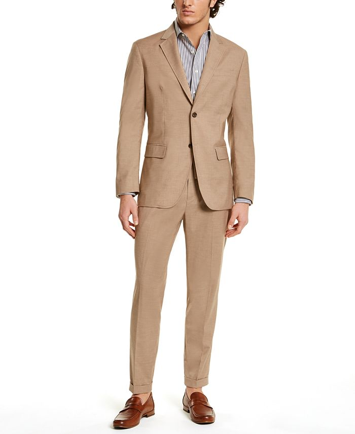Tasso Elba - Men's Classic-Fit Stretch Tropical Weight Sportcoat