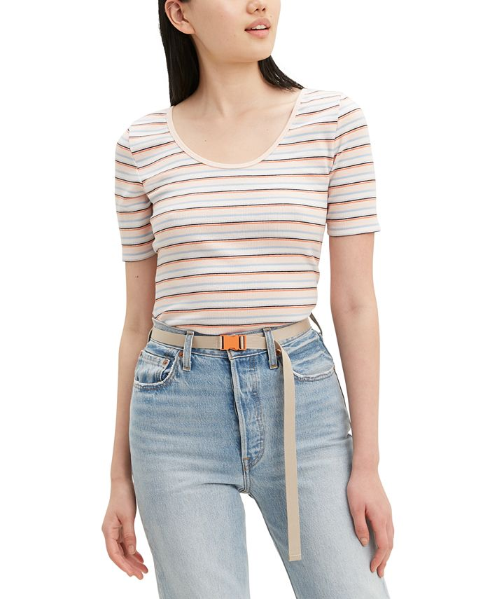 Levi's - Venice Striped Stretch T-Shirt