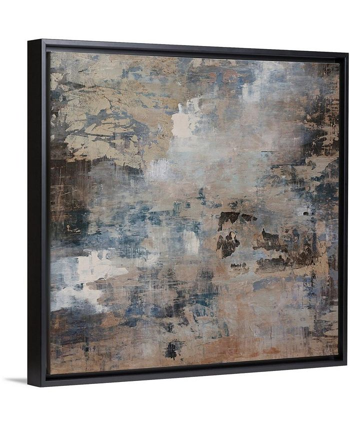 """GreatBigCanvas - 36 in. x 36 in. """"Ice Flow"""" by  Alexys Henry Canvas Wall Art"""