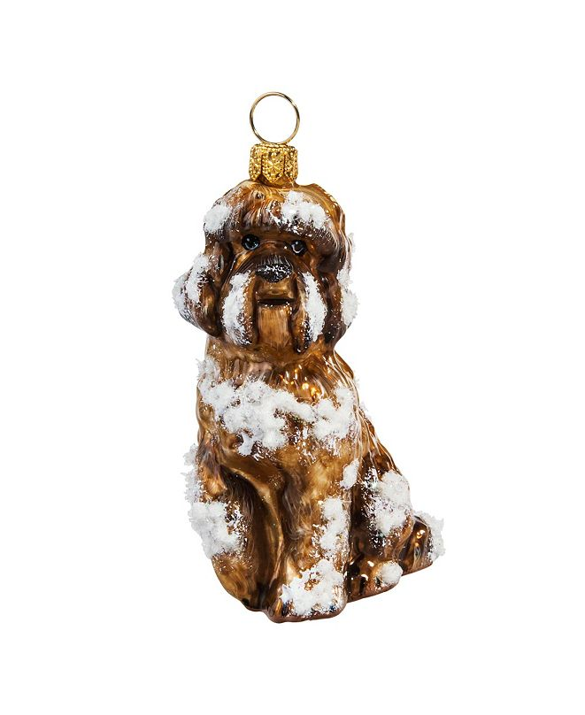 Joy to the World Labradoodle Brown-Snowy