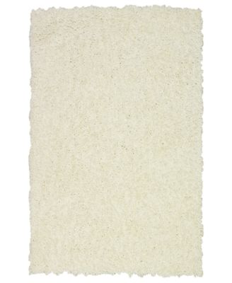 Dalyn Area Rug, Super Soft Shag Snow 5' x 7'6""