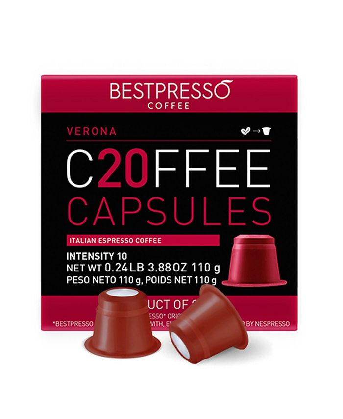Bestpresso - Verona  Flavor 120 Capsules per Pack