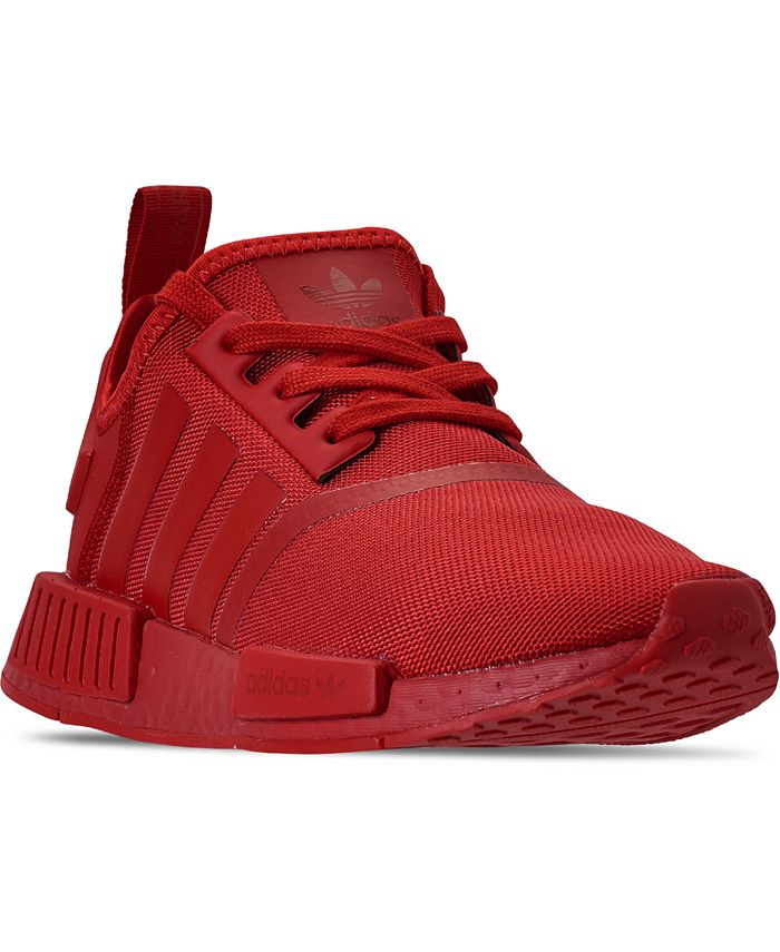 adidas - Big Boys NMD R1 Casual Sneakers from Finish Line