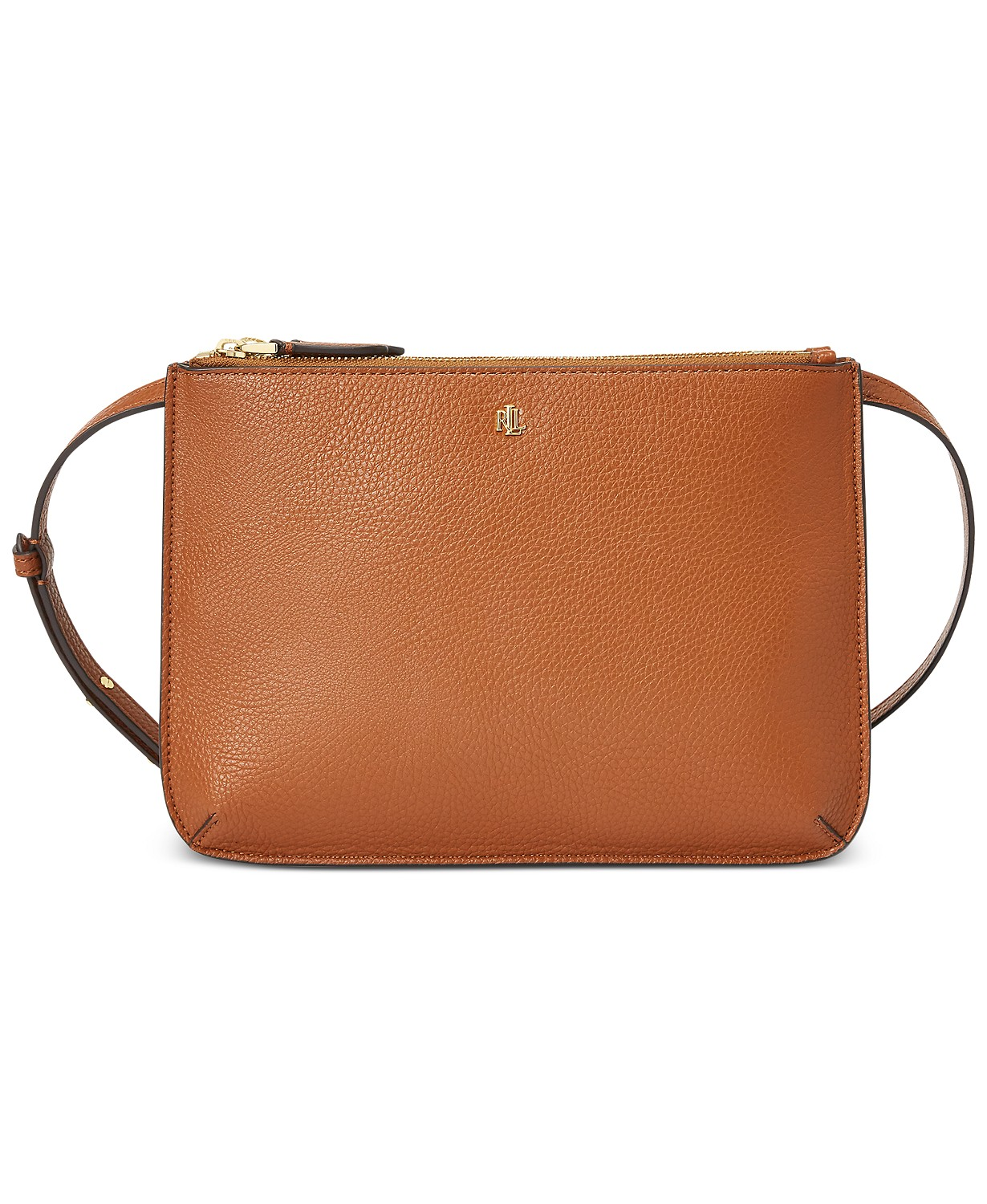 Lauren Ralph Faux Pebble Leather Carter Crossbody