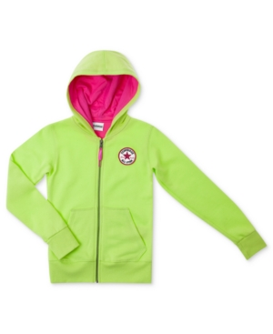 Converse Kids Sweatshirt Little Girls Logo Fleece Hoodie