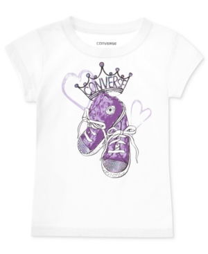Converse Kids TShirt Little Girls or Toddler Girls Graphic Tee