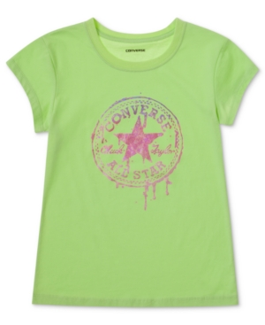 Converse Kids TShirt Little Girls Logo Graphic Tee