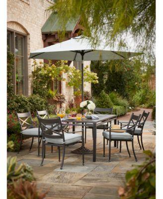 Montclaire Outdoor Aluminum 7-Pc. Dining Set (84