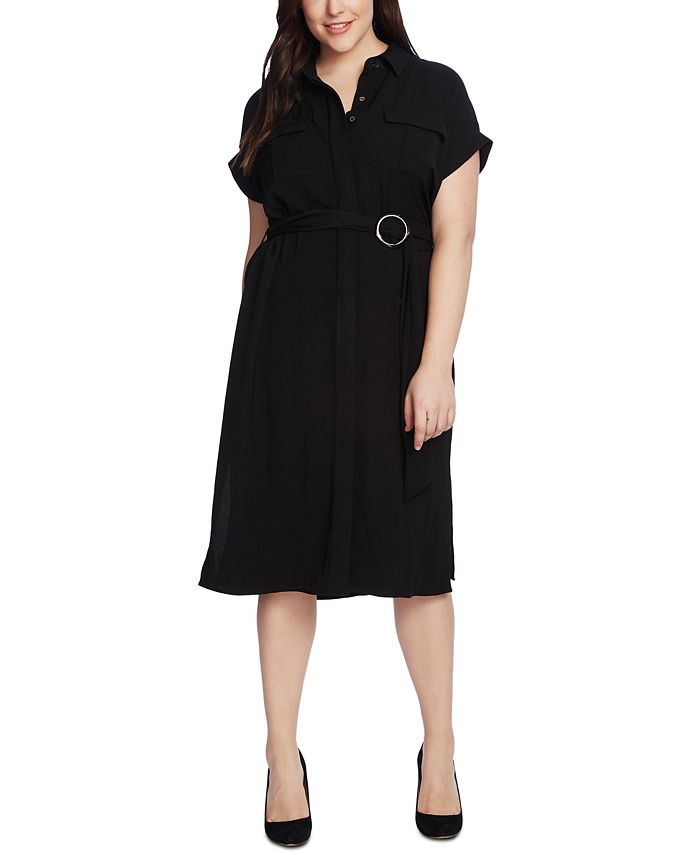 Vince Camuto - Plus Size Utility Shirtdress