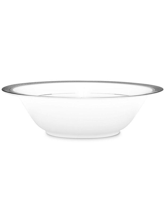 Noritake - Summit Platinum Round Vegetable Bowl, 32 Oz.