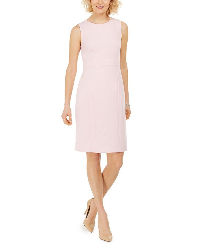 Kasper - Stretch Crepe Sheath Dress