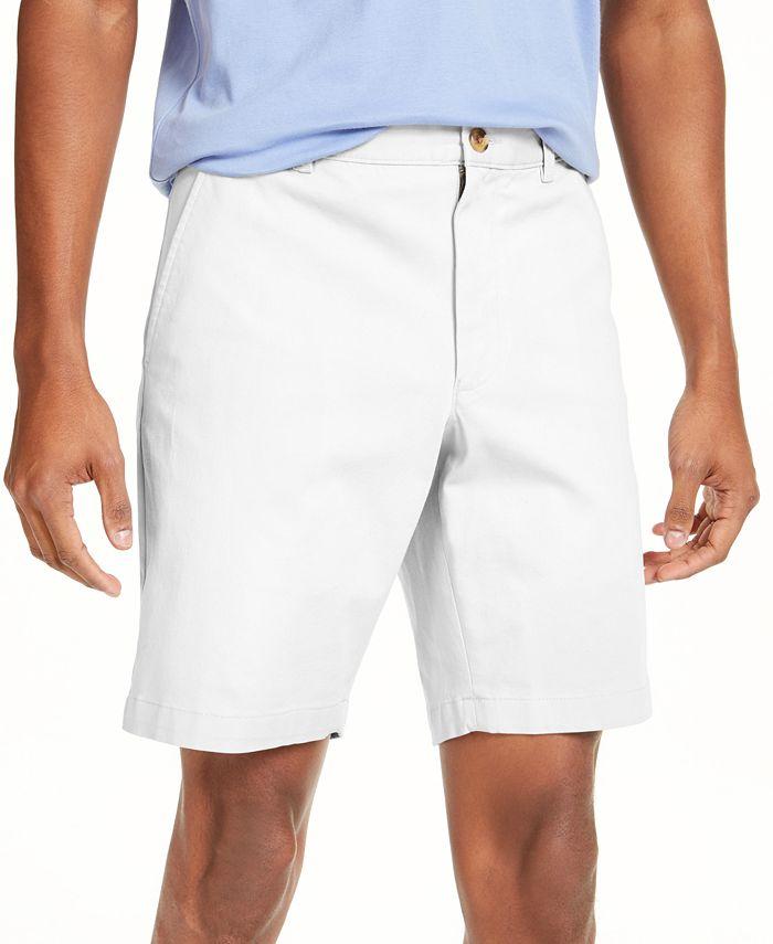 Club Room - Men's Regular-Fit 4-Way Stretch Shorts