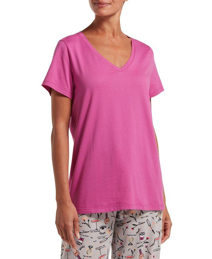 Hue - V-Neck Sleep T-Shirt