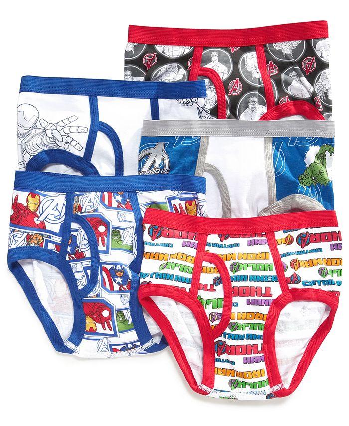 Avengers - Kids Underwear, Boys or Little Boys  5-Pack Briefs