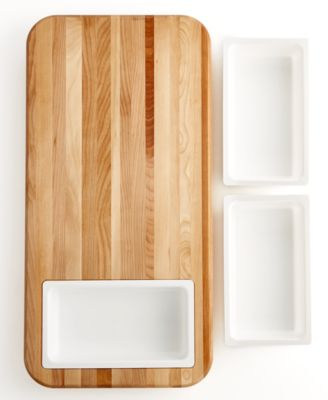 Catskill Craft Cutting Board with Tray