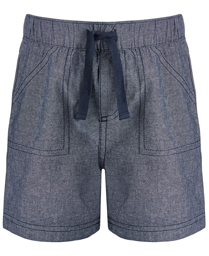 First Impressions - Baby Boys Cotton Chambray Shorts