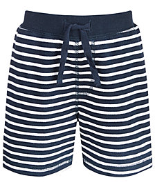 First Impressions Baby Boys Striped Shorts, Created for Macy's