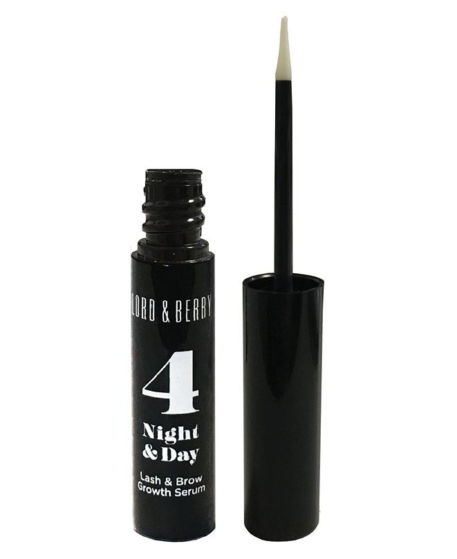 Lord & Berry 4 Night and Day Eye Lash and Brow Serum, 0.17 fl.oz