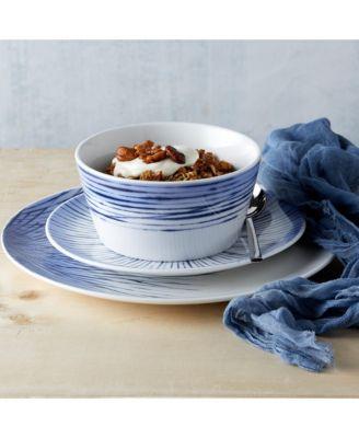 Hanabi Set /4 Coupe Dinner Plates