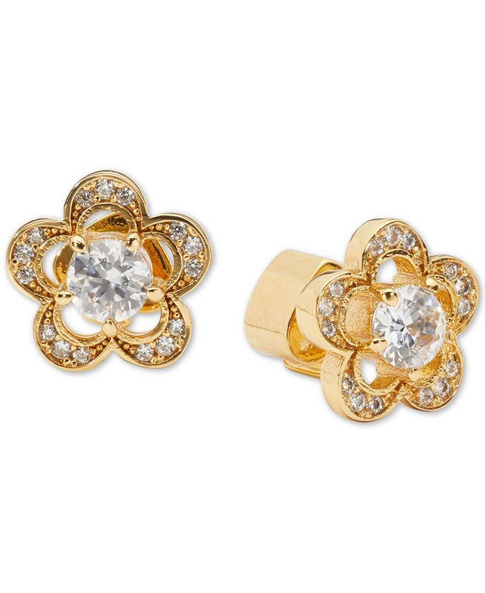 kate spade new york - Crystal Flower Stud Earrings