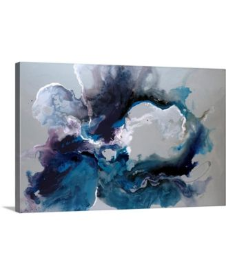 "'Cerulean waters' Canvas Wall Art, 30"" x 20"""