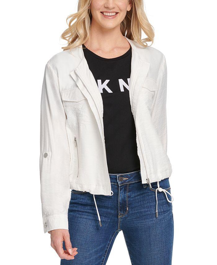 DKNY - Zip-Front Jacket